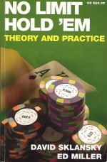 No Limit Holdem Theory and Practice