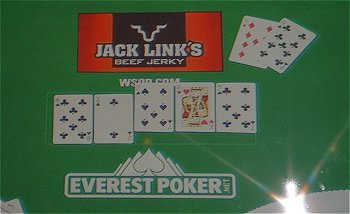 1:29 AM Tuesday, Nov. 10 - Moon and Cada play the final hand and Cada wins.
