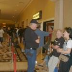 WSOP spectators in line ahead of me at 10:33am