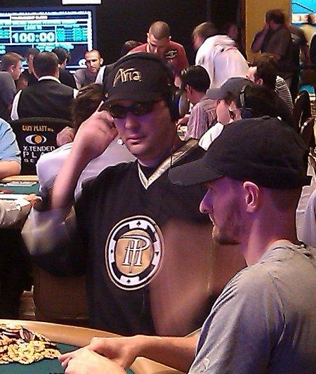 Phil Hellmuth, Michael Binger, Minh Ly, Robert Mizrachi day 4 Poker Players Championship