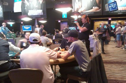 josh Arieh, Michael Binger, Phil Hellmuth Day 4 Poker Players Championship