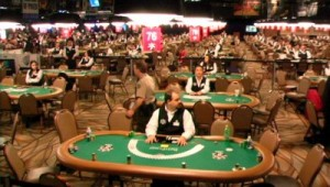 WSOP dealers waiting