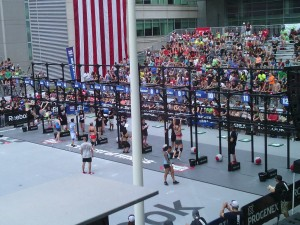 CrossFit Northest Regionals Womens individual competition